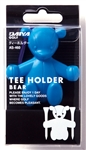 Tee Holder - Blue Holds two tees  Carabiner clip makes it easy to secure to belt or golf bag