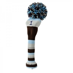 Knit head cover Driver Blue Daiya Golf