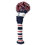 Knit head cover Driver red Daiya Golf