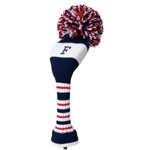 Knit head cover Fairway Red Daiya Golf