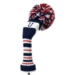 Knit head cover Utility red Daiya Golf