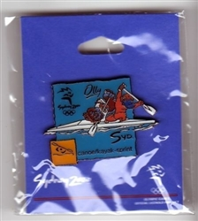 2000 Sydney Millie Table Tennis Olympic Mascot Sports Pin