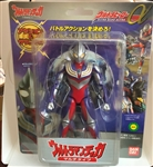 Ultraman Ultra Hero Alpha Multi type with battery operated chest light 2002